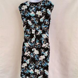 Jones New York Dresses - Jones New York Black Blue White Dress Size S